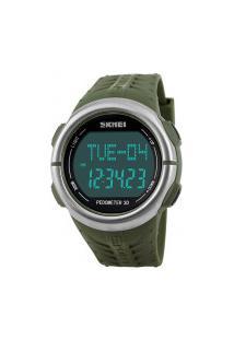 Relógio Skmei Digital -1058- Verde