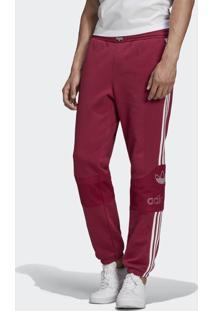 Calça Adidas Ts Trf Sp Originals Bordô