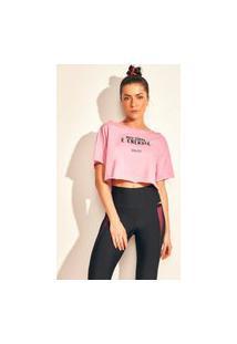 Camiseta Colcci - Rosa Sunkiss