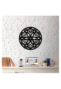 Escultura De Parede Wevans Mandala Amazing + Espelho Decorativo Único
