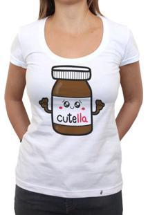 Cutella - Camiseta Clássica Feminina
