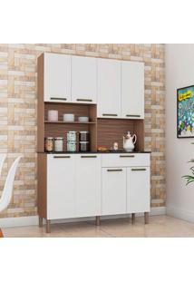 Cozinha Compacta Tannat Gold 8 Pt 1 Gv Sevilha E Branca