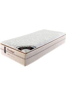 Colchão Solteiro 188X78X36 Mola Latex Firm Pillow Top -Prorelax - Bege