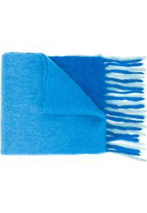 Acne Studios Cachecol Oversized Kelow - Azul