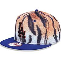 Amazon. Bone 950 Los Angeles Dodgers Mlb Aba Reta Bege New Era 87f7368672f