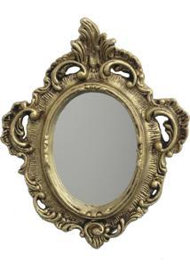 Espelho Casa Da Mãe Joana Genova Dourado
