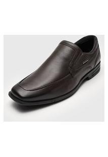 Sapato Social Ferracini Liso Marrom