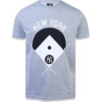 1adf06aa98c7e Camiseta New York Yankees Mlb New Era Masculina - Masculino-Mescla Claro