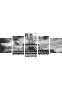 Quadro Decorativo Torre Eiffel Peb