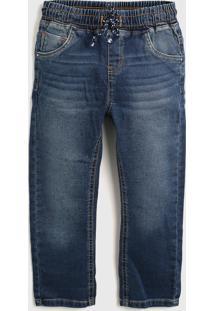Calça Jeans Malwee Kids Infantil Lisa Azul