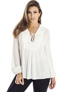 97cbaab838 Camisa Algodao Ana Hickmann feminina