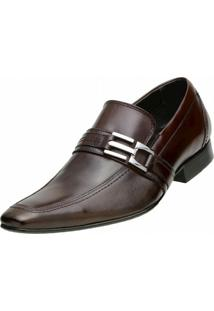 Sapato Social Paulo Vieira - Masculino-Marrom