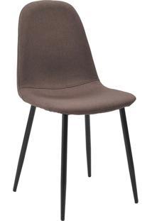 Cadeira Tania-Rivatti - Marrom / Preto
