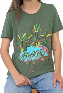 Camiseta Cantão Jalapão Verde - Kanui
