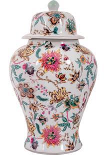 Vaso Decorativo De Porcelana Buchart G - Linha Harmony