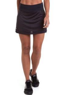 Saia Authen Shorts Signature Smoke Feminina - Feminino
