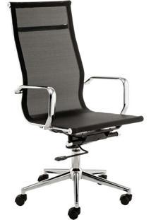 Cadeira De Escritório Diretor Sevilha Preto
