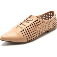 8dee8883b Oxford Bege Bico Fino feminino | Shoes4you