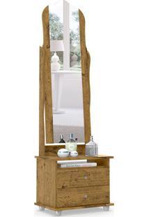 Mesa De Cabeceira Com Espelho Magic 2 Gv Nature
