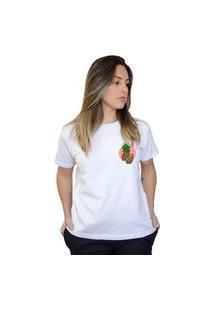 Camiseta Boutique Judith Pineapple Branco
