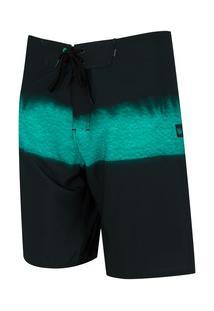 Bermuda Hang Loose Boardshorts String - Masculina - Preto/Azul