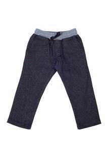 Calça Jeans Black Com Punho Lazy