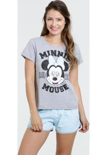 Pijama Feminino Short Doll Mickey Disney