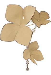 Marni Broche Floral - Neutro