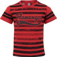 Camiseta Do Flamengo Player Feminina - Infantil - Vermelho fdd7c99267f9e