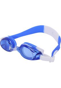Óculos De Natação Oxer Ziggy - Infantil - Azul/Branco