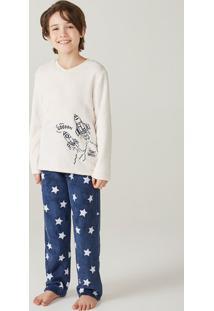 Pijama Infantil Menino Em Fleece Hering Kids