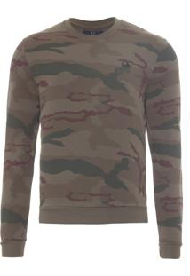 Blusa Masculina Camouflage - Verde