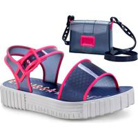 cc0c8c33c8345 Sandália Para Menina Azul Fivela infantil   Shoes4you