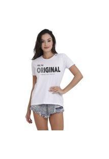 Camiseta Jay Jay Basica Original Branca Dtg