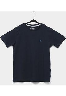 Camiseta Infantil Yachtmaster Básica Masculina - Masculino-Marinho