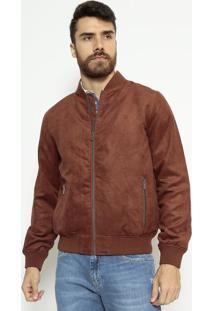 Jaqueta Outerwear Acamurçado - Marromindividual