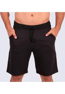 Bermuda Plus Size Moletom Mz Authentic Masculino - Masculino