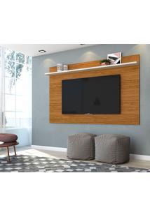 Painel Para Tv Até 60 Polegadas Lorenzo 1.8 Naturale E Off White