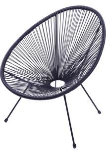 Cadeira Acapulco Or-1160 – Or Design - Preto