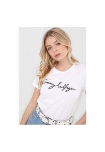 Camiseta Tommy Hilfiger Heritage Graphic Branca