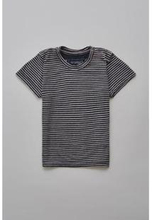 Camiseta Masculina Infantil Bb Linho Mar Reserva Mini - Masculino