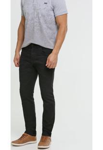 Calça Masculina Sarja Slim Zune Jeans