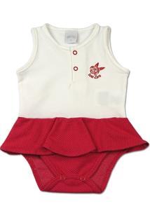 Body Bebê Cotton E Malha Trabalhada Praia Brava F - Feminino