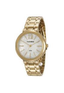 Relógio Analógico Mondaine Feminino - 76703Lpmvde1 Dourado