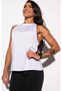 Camiseta Honey Be Decote Costas Feminina - Feminino