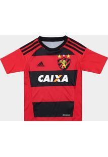 Camisa Sport Recife Infantil I 17/18 - Torcedor Adidas - Masculino