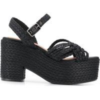 1a95fdb64 Sandália Preta Trancada feminina | Shoes4you