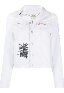 Zadig&Voltaire Jaqueta Jeans - Branco