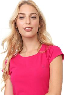 Camiseta Polo Wear Lisa Pink