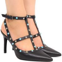df6979cda6 Sapato Scarpin Zariff Shoes Pedras
